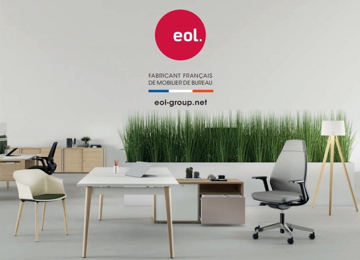 EOL catalogue 2019 mobilier bureau made in france